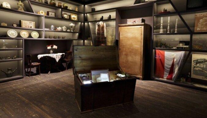 Foto: Modernā pūra lāde - 'Latvijas gada ekspozīcija' jābrauc lūkot uz Balviem
