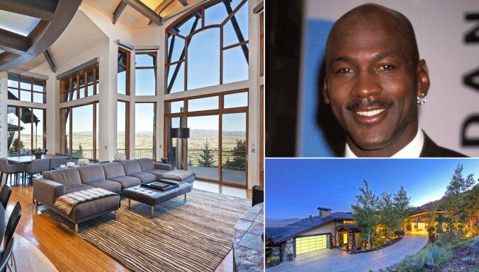 ФОТО: Как выглядит особняк баскетболиста Майкла Джордана в горах