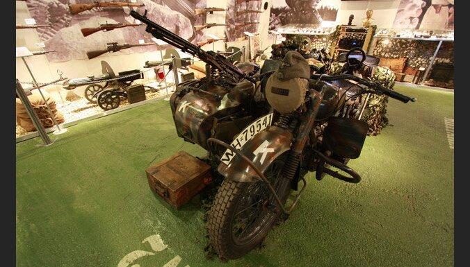 В Аглоне продается частный военный музей