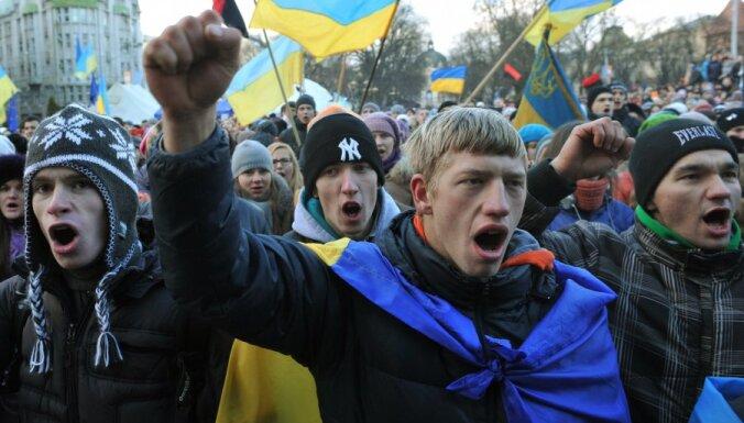 Майдан назван самой массовой акцией в поддержку ЕС