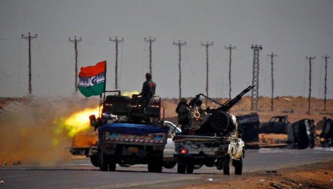 Kadafi dēls: Lībija grib jau rīt redzēt valstī ASV un tiesību aizstāvju misiju