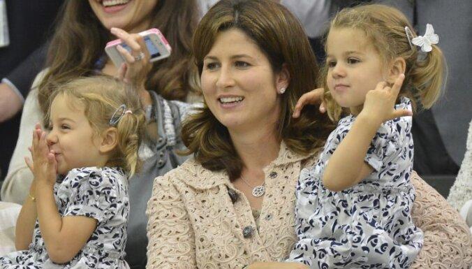 Роджер Федерер в третий раз станет отцом