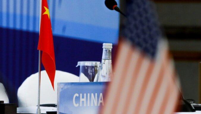 Ķīna atsakās piedalīties ASV-Krievijas sarunās par kodolieroču kontroli
