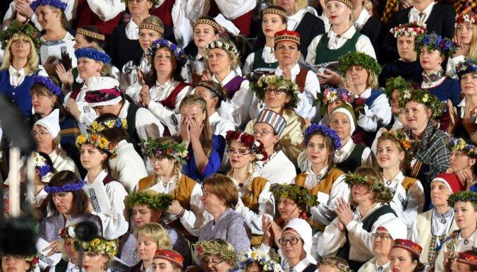 Izpētīta emociju nozīme Dziesmu un deju svētku tradīcijas saglabāšanā un pārmantošanā