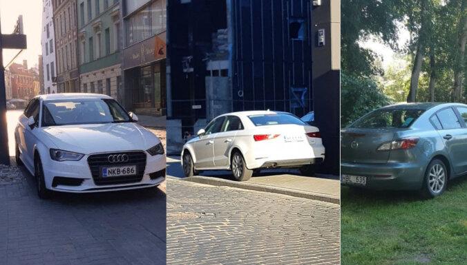 Добровольный помощник полиции о парковке: самые наглые — туристы из Литвы и Финляндии