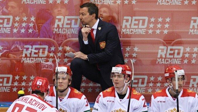 Krievijas hokeja izlasi vadīs Vorobjovs, Znaroks būs konsultants