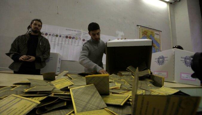 Itālijas vēlēšanu strupceļš satricina Eiropu