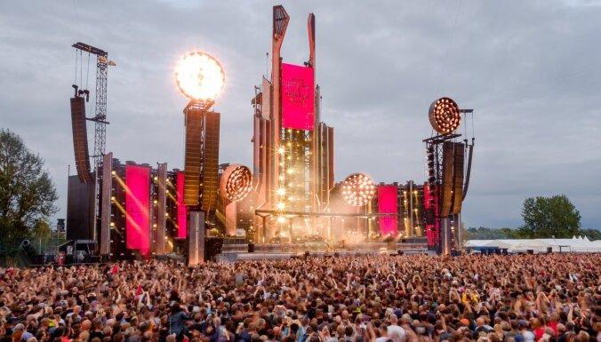 Жалобы на шум от концерта Rammstein поступили из Юглы и даже из Кекавы