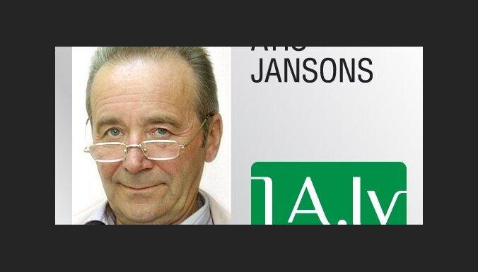 Atis Jansons, 'Latvijas Avīze': Cik esmu parādā mazdēlam?