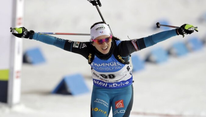 France Anais Chevalier Biathlon