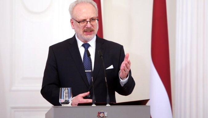 'Lai neatgrieztos pie pārlemšanas' – Levits dod padomu Saeimai un iesniedz priekšlikumus novadu reformai