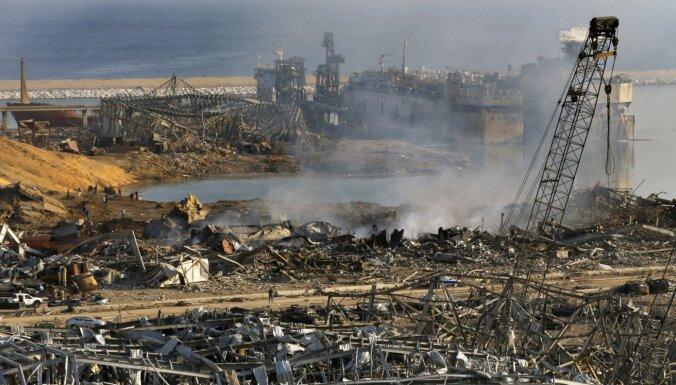 Президент Ливана оценил ущерб от взрыва в Бейруте в 15 миллиардов долларов