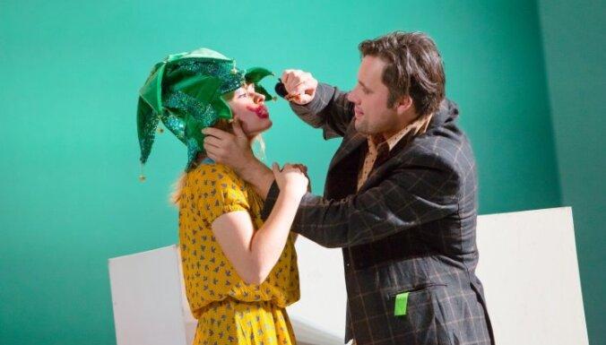 Foto: Džilindžera 'Iemīlējās muļķis muļķītē' Daugavpils teātrī