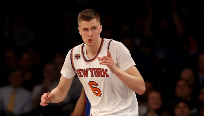 Porziņģa krekls šosezon bijis septītais pārdotākais NBA