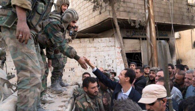 'Daesh' uzbrukumā Damaskas rajonam krituši 36 Sīrijas karavīri