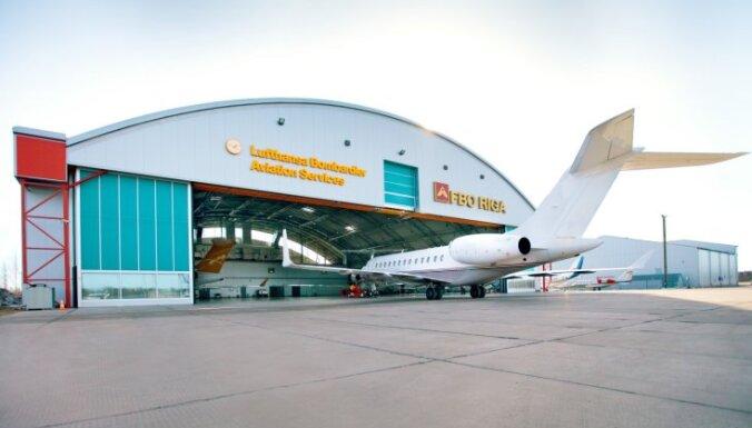 Arī pirmdien atcelti aviokompānijas 'Lufthansa' reisi starp Frankfurti un Rīgu