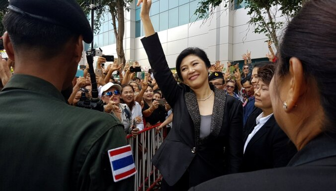 Serbija piešķir pilsonību Taizemes ekspremjerei Šinavatrai
