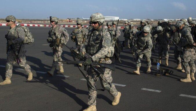 ASV samazināšot bruņoto spēku klātbūtni Āfrikā