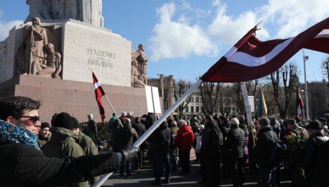 Leģionāru piemiņas dienā Rīgas centrā atkal grib pulcēties pretēju viedokļi paudēji