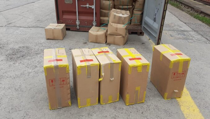 VID konfiscē 8 miljonus kontrabandas cigarešu no Vjetnamas