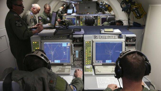 В воздушном пространстве стран Балтии — военно-воздушные учения НАТО