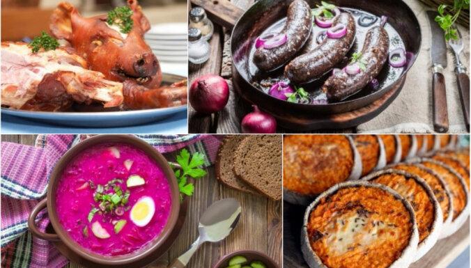11 neparasti latviešu virtuves ēdieni, ar ko pārsteigt ārzemniekus