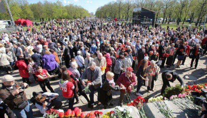С воскресенья в Риге введут транспортные ограничения в связи с мероприятиями 9 мая