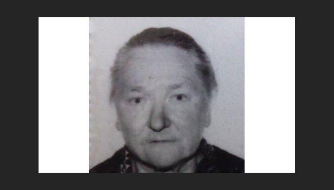Полиция ищет пропавшую в Седе 81-летнюю женщину