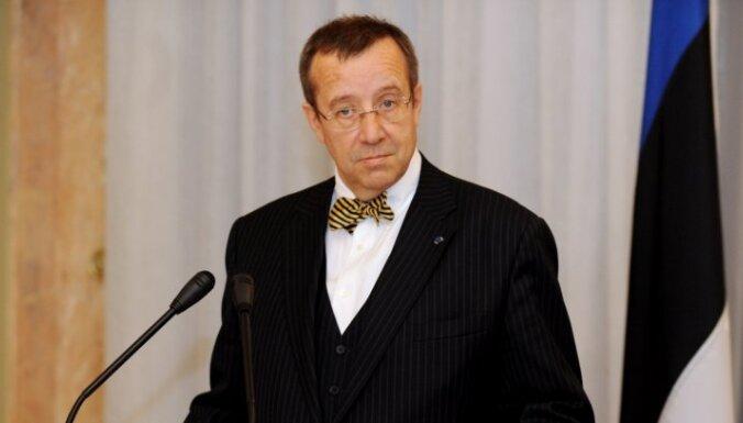 Igaunijas prezidents gatavs kandidēt uz otru termiņu