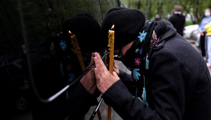 В России зафиксирована вторая по величине суточная смертность от Covid-19