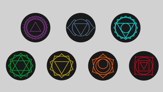 Septiņas čakras – portāli uz kosmisko atmodu