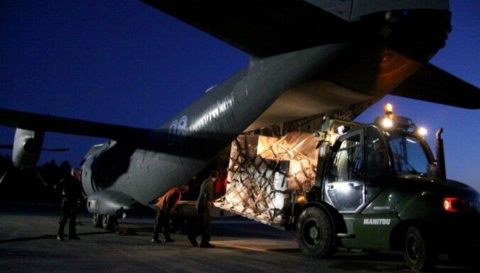 Литва направила Украине пять тонн материальной помощи