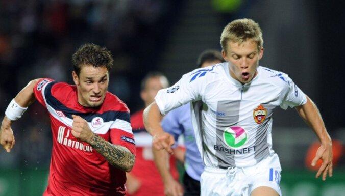 Цауня забил за ЦСКА первый гол в чемпионате России