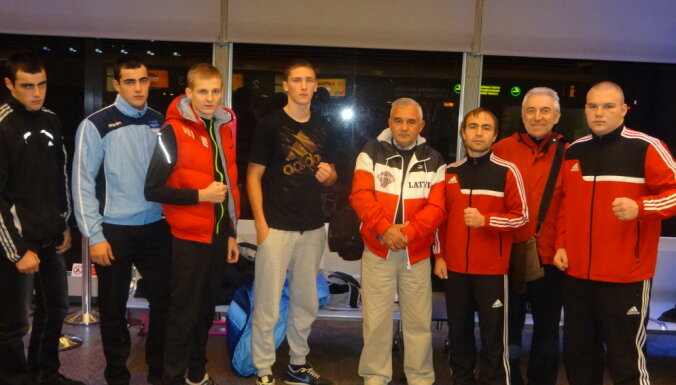 Елгавский боксер в бою за медаль ЧЕ проиграл украинцу