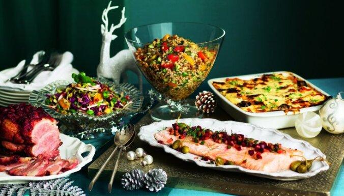 Idejas gardam mielastam – divas ēdienkartes Ziemassvētku vakariņām