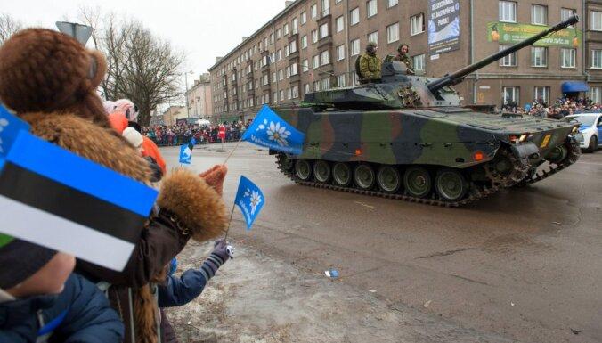В Эстонии построят закрытую дорогу для военной техники НАТО