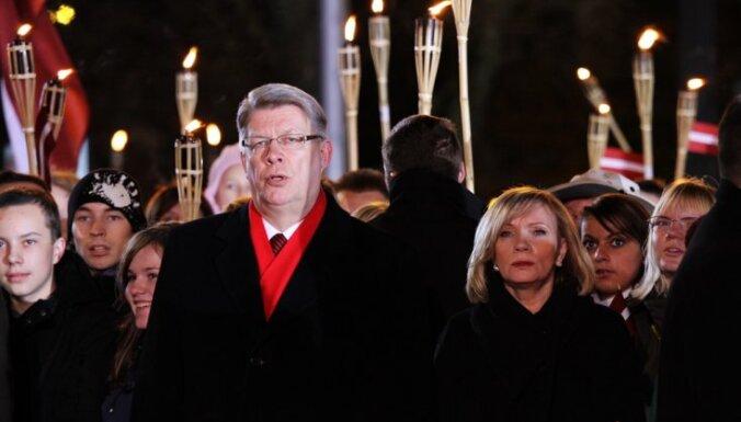 Šogad 18.novembra pieņemšana Rīgas pilī izmaksājusi 9237 latus