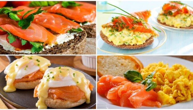 Karaliskas brokastis ar lasi: lērums recepšu brīvdienu brančam