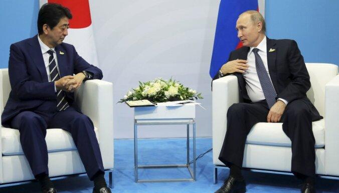Путин и Абэ обсудили принадлежность Курильских островов на G20