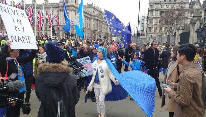 DELFI в Лондоне: как британцы проводят последние часы пребывания в ЕС