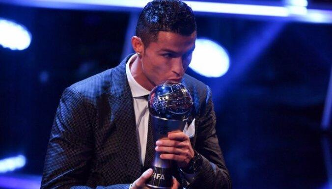 ФИФА признала Криштиану Роналду лучшим футболистом 2017 года