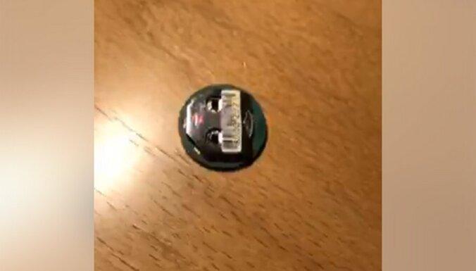 Артусс Кайминьш нашел в своем кабинете в Сейме подслушивающее устройство