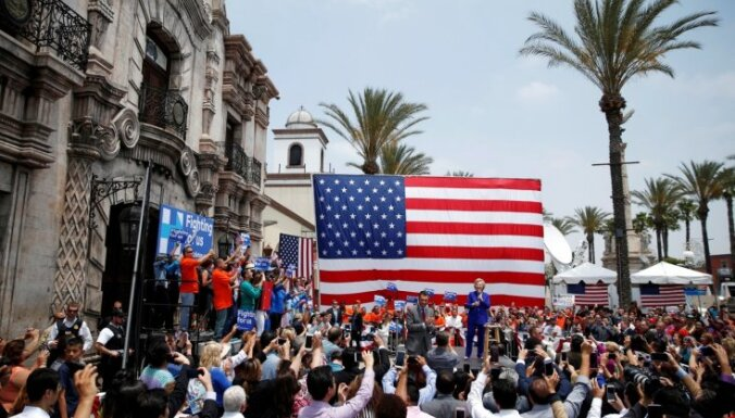 ASV pienākusi pēdējā lielā priekšvēlēšanu diena