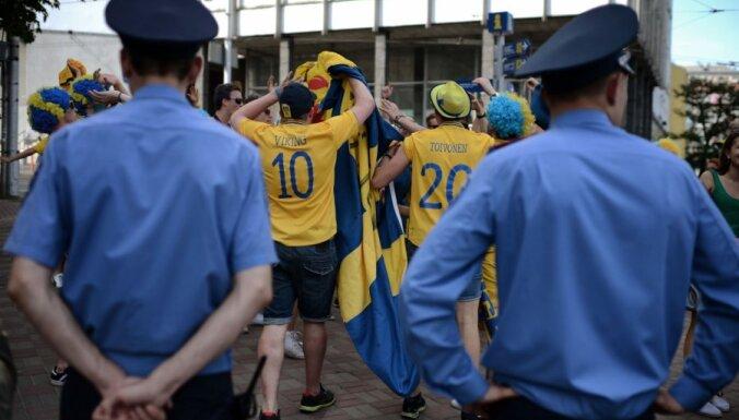 Шведы прошлись 5-тысячным маршем по Киеву