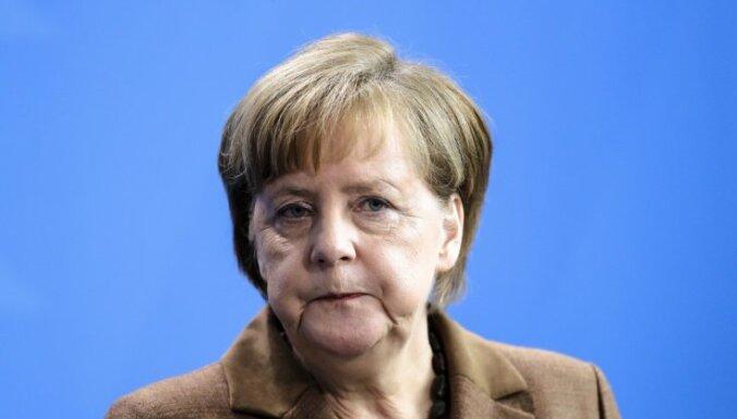 """Меркель прокомментировала строительство """"Северного потока-2"""""""