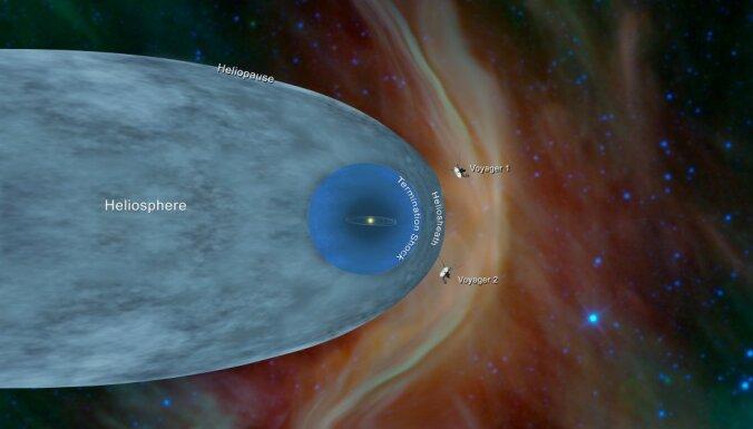 """Зонд """"Вояджер-2"""" стал вторым земным аппаратом, вышедшим в межзвездное пространство"""