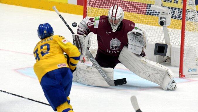 Latvija mačā pret Zviedriju 'iet uz pilnu banku' un dramatiski noslēdz cīņu par ceturtdaļfinālu