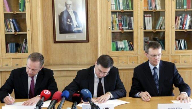 Latvija oficiāli lūdz pievienošanos eirozonai (+FOTO)