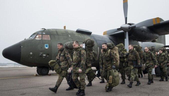 В Литву продолжают прибывать немецкие отряды военных
