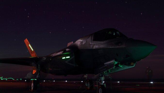 Ziemeļkoreja uz F-35A Dienvidkorejā draud ar militāru reakciju